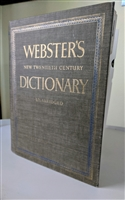 Webster New Twentieth Century Dictionary 2nd ed
