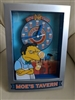Homer Simpson Moe's Tavern wall or standing clock