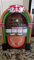 Mr Christmas Rock O Rama electric JUKEBOX display