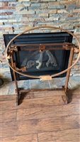 Wooden crafting stand with American Heritage hoop