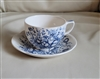 Royal Chelsea tea cup and saucer sign H. Fennell.