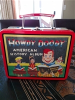Howdy Doody Tin lunch box from 1998 storage decor
