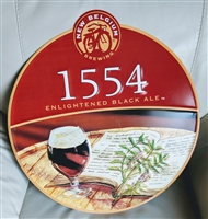 New Belgium Brewing 1554 Black Ale tin advertising