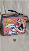 Raggedy Ann and Andy metal lunch box 1973 collect