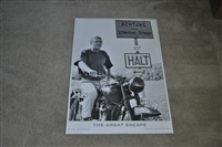 The Great Escape movie poster Steve McQueen 1996