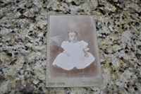 Antique baby photo from Missouri