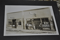 VIntage black and white storefront photograph