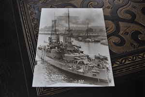 USS OREGON vintage large Kodak picture