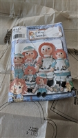 Simplicity pattern 9447 Raggedy Ann Andy from 2000