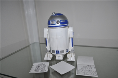 R2-D2 larger Art Center Episode 1 Hasbro 1998