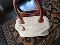 Mondani New York canvas handbag