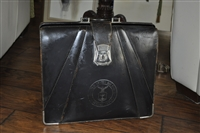 Leather AIR FORCE briefcase military collection