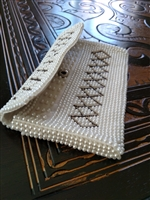 Emson beaded purse from Japan