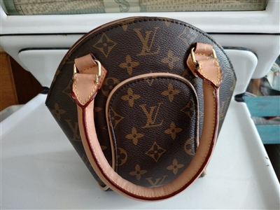 Louis Vuitton marked satchel small