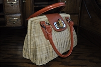 Kelly & Katie wicker purse