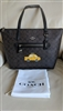 Original Coach NY TAXI large Tote brown black new