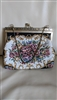Evening floral tapestry purse clutch Hong Kong