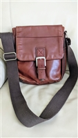 Genuine Leather Fossil messenger shoulder bag
