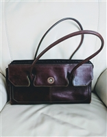 Wilsons Italian brown leather shoulder bag purse