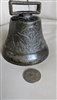 Antique Eagle and Stars metal cast bell