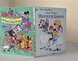 Mother Goose story by Eloise Wilkin kids book