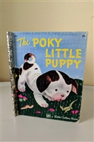 The Poky Little Puppy by A Golden Books 1978