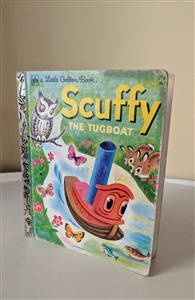 Scuffy the Tugboat by A little golden books 1978
