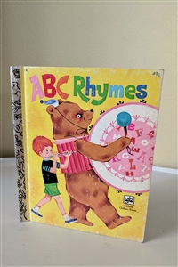 ABC Rhymes A little golden book 1977 stories