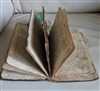 Antique spiritual book Job Scot New York 1797