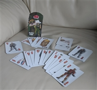2002 Hasbro GI Joe vs Cobra playing cards deck