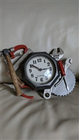 Burnwood Products men tool wall clock working