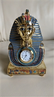Franklin Mint The Mask of Tutankhamun clock