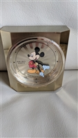 The Walt Disney Seiko Mickey Mouse alarm clock