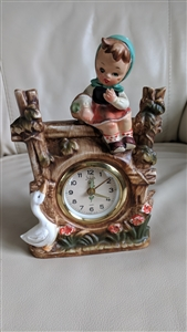 Porcelain West Germany alarm clock Sheffield