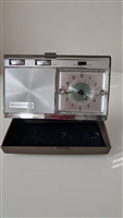 Westinghouse wind up alarm AM Radio travel case