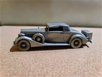 Packard Coupe 1937 pewter car Danbury Mint