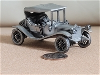 Pewter automobiles 1911 Maxwell Roadster England