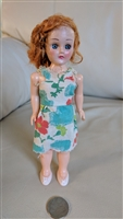 Sleepy eye hard plastic vintage 8 inch tall doll