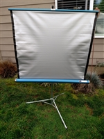 Vintage tower projection screen Sears Roebuck