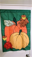 ACE Fall time outdoor nylon banner pumpkins acorns