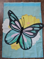 Jetmax butterfly outdoor nylon banner home display