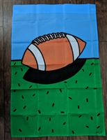 AGE Football theme outdoor nylon display flag