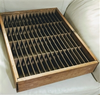 Napa Valley Company wooden box with 64 slots