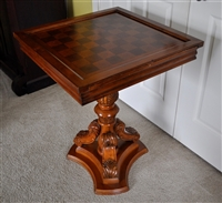 Game table solid wood with multi purpose function