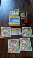 Charlie Brown 1988 children match board game