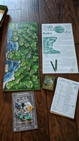 Golf links Cribb Golf board game by JK Games 1997