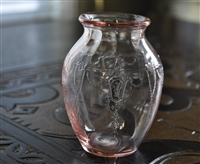 Cameo Pink vase from Anchor Hocking