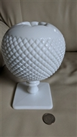 Hobnail milk glass Ivy vase by Westmoreland