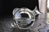Clear glass Fish lidded trinket storage box
