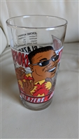 Jerome Kersey Blazers 92 93 glass mug collectible
